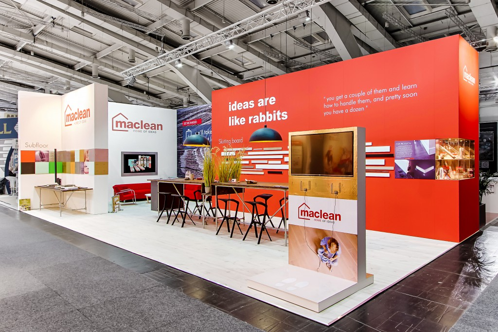 Beurs stand Maclean Products Domotex 2016
