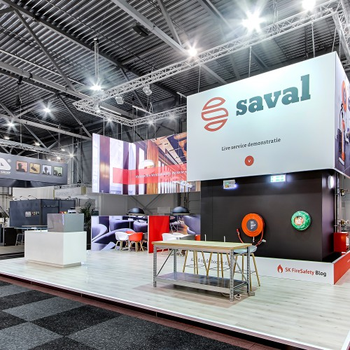 Beurs stand Saval Facilitair 2016 by FRESH EXPO