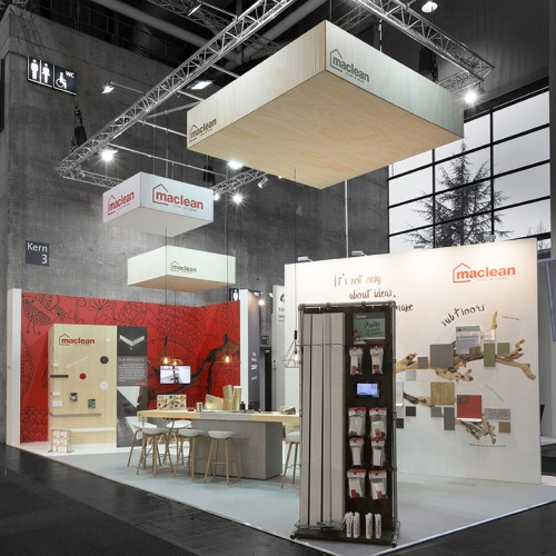 Beursstand Domotex 2018 - Maclean Products