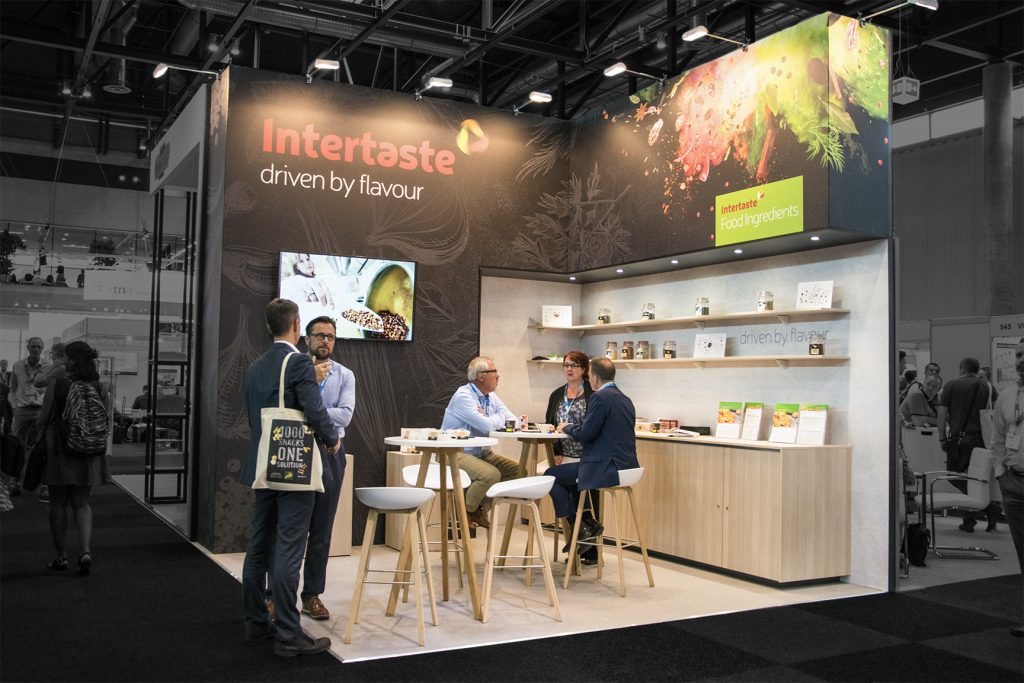 Beurs stand ITT Food Ingredients - Snackex 2017 - 1