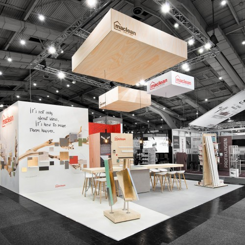 Standbouw Mac Lean Products - Domotex 2017 - 1