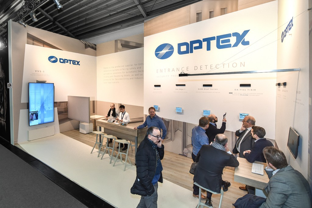 Beurs stand Optex Technologies - BAU 2018 Muenchen - 1 - 72 dpi