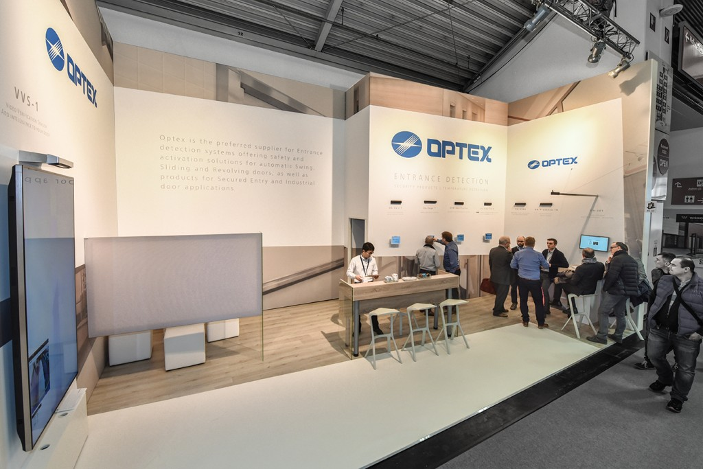 Beurs stand Optex Technologies - BAU 2018 Muenchen - 2 - 72 dpi
