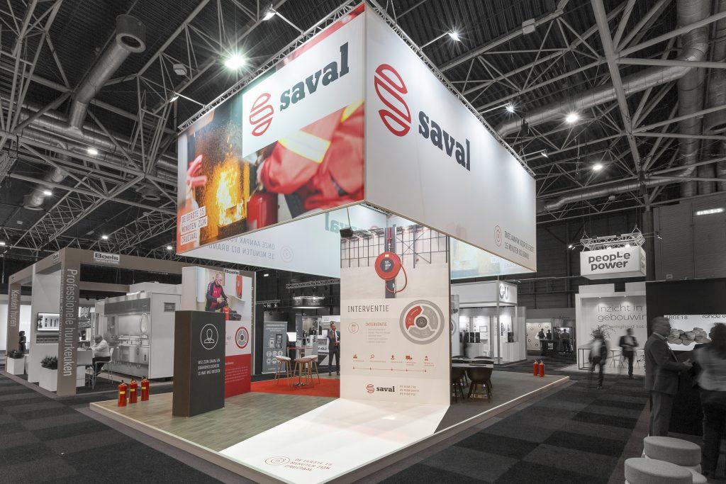 Beurs stand Saval - Vakbeurs Facilitair en Gebouwbeheer 2018 - 1 - 150 dpi