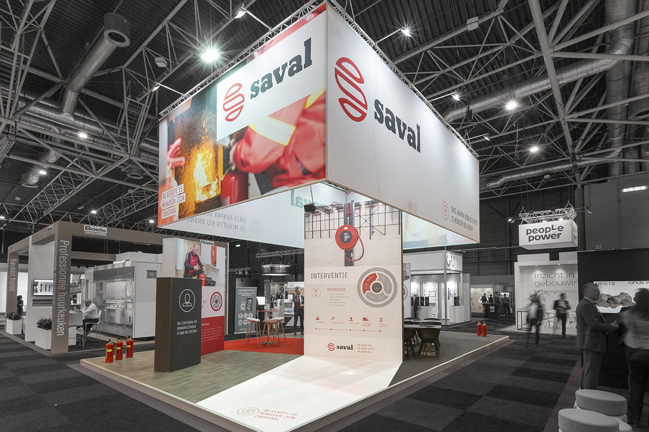 Beur stand Saval - Vakbeurs Facilitair en Gebouwbeheer 2018 - 1 - 72 dpi