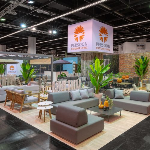 Beurs stand Persoon Outdoor Living - Spoga 2018