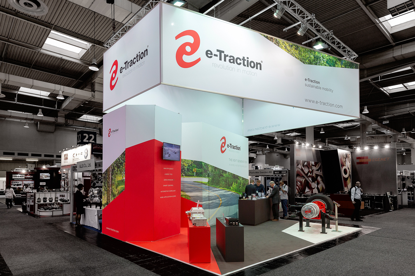 Beurs stand e-Traction - IAA 2018