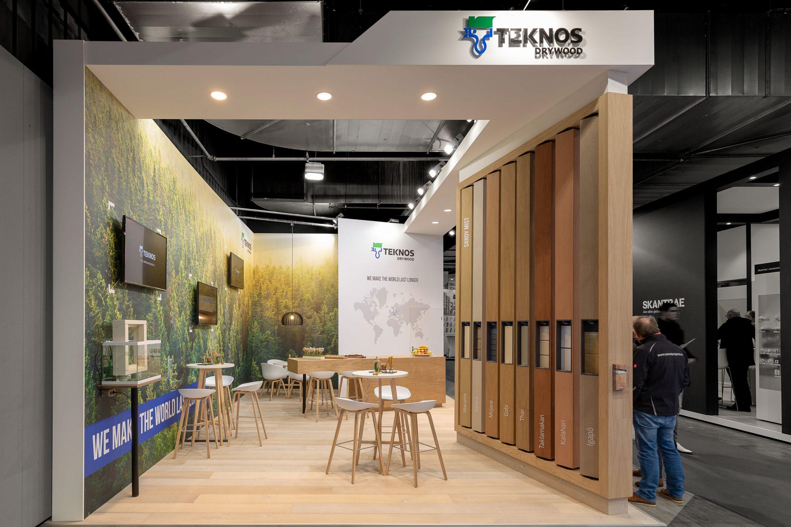 Standbouw - Teknos Drywood - Bouwbeurs 2020 - 2